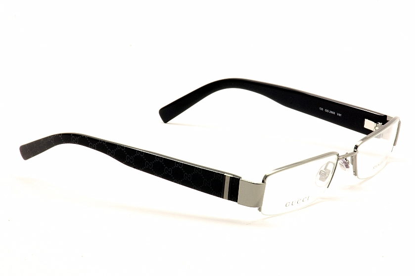 Gucci Glasses Half Frame : Gucci Eyeglasses 2860 Half Rim Optical Frame 51MM