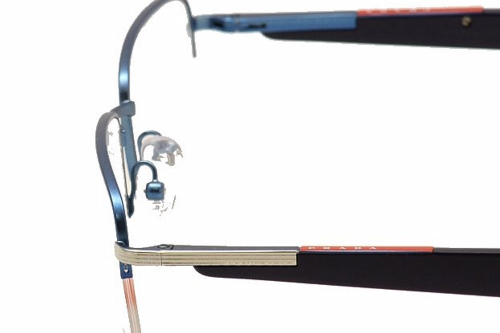 e408505ced8 Prada Linea Rossa Eyeglasses VPS55B VPS 55B Semi Rim Optical Frame by Prada  Linea Rossa