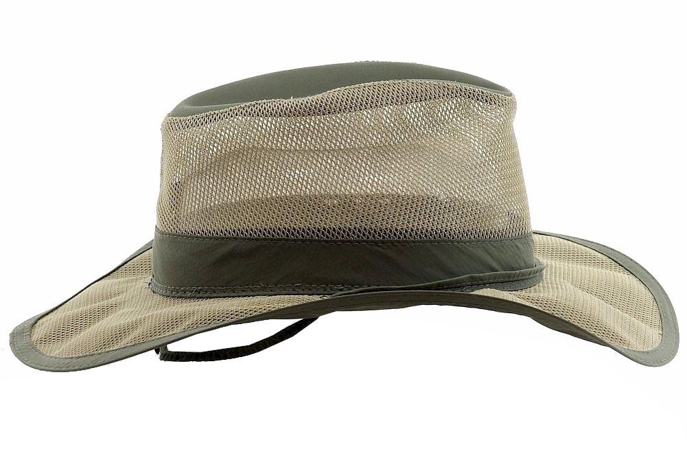 38e60f0f7ddd6 Dorfman Pacific Outdoor Men s Supplex Nylon Mesh Safari Hat by Dorfman  Pacific