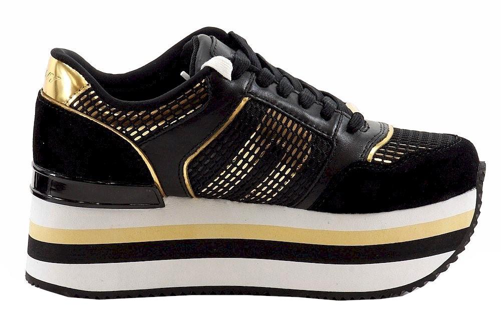 4e7c6482633 Donna Karan DKNY Women s Jill Runway Fashion Platform Sneakers Shoes