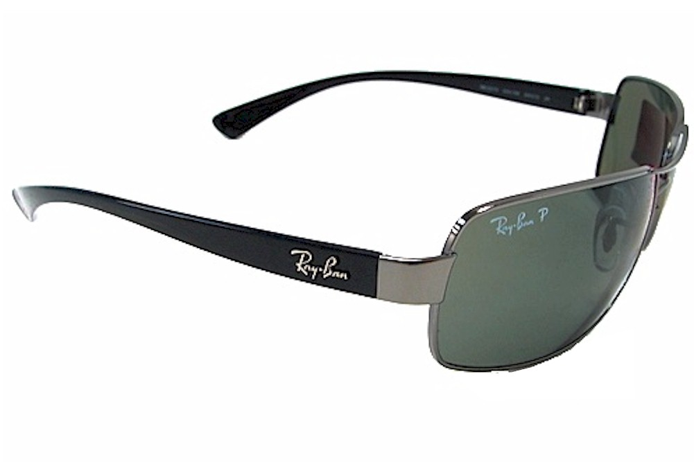 6920fb7bc2 Ray Ban Men s RB3379 RB 3379 004 58 Gunmetal RayBan Polarized Sunglasses  64mm by Ray Ban
