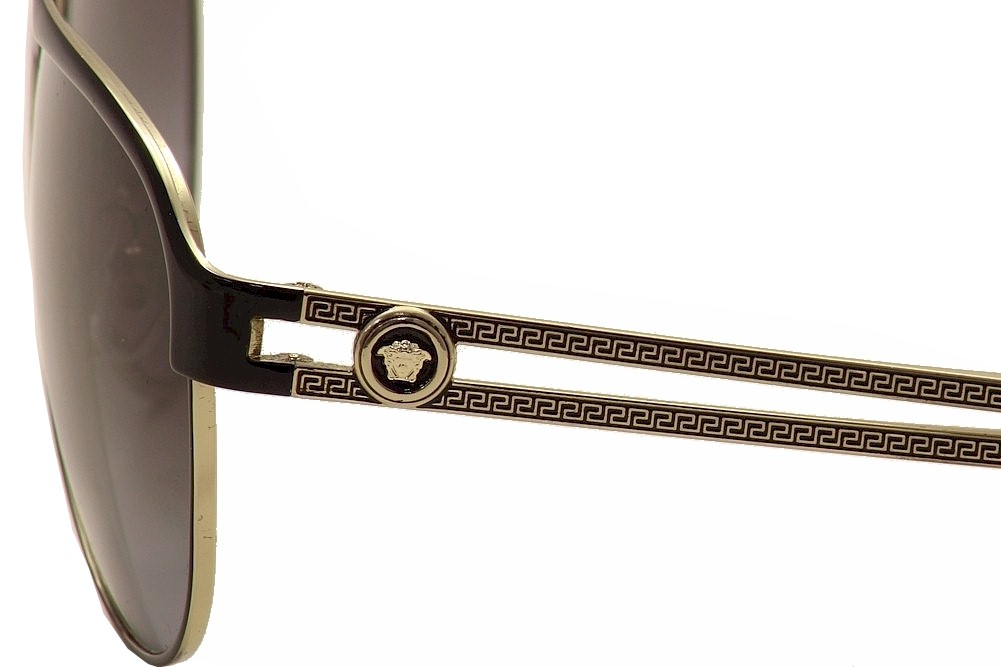 742c911b09dd Versace VE2165 VE/2165 1371/8G Fashion Aviator Sunglasses by Versace