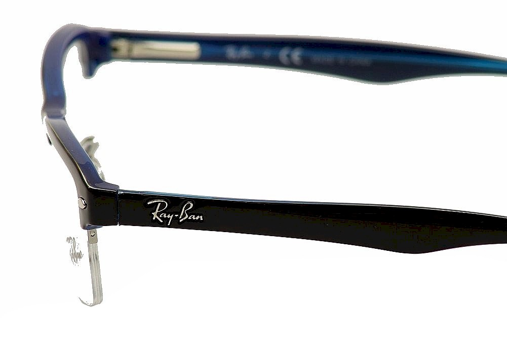 Ray-Ban Mens Eyeglasses RB7014 RB/7014 RayBan Half Rim ...
