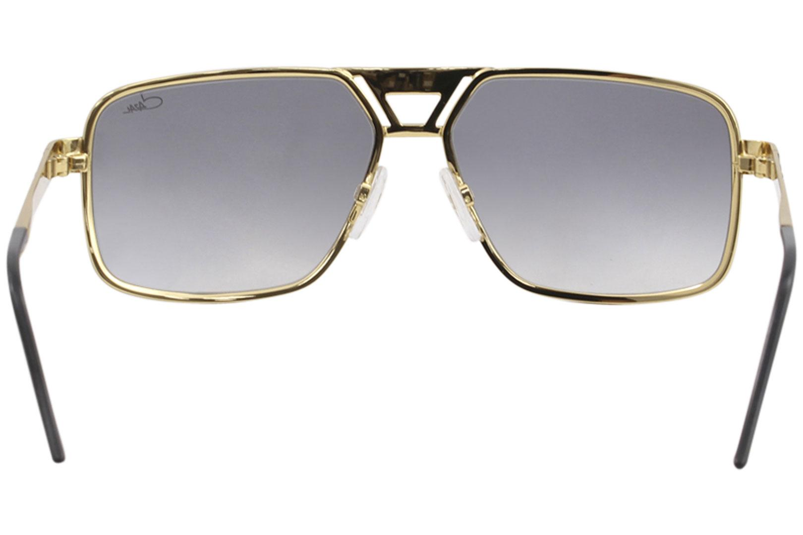 d51c628a4bc Cazal Men s 9071 Retro Pilot Sunglasses by Cazal