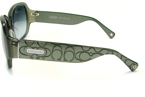 49733ee8071b COACH Odessa S822 Sunglasses S-822 Olive Frame by Coach