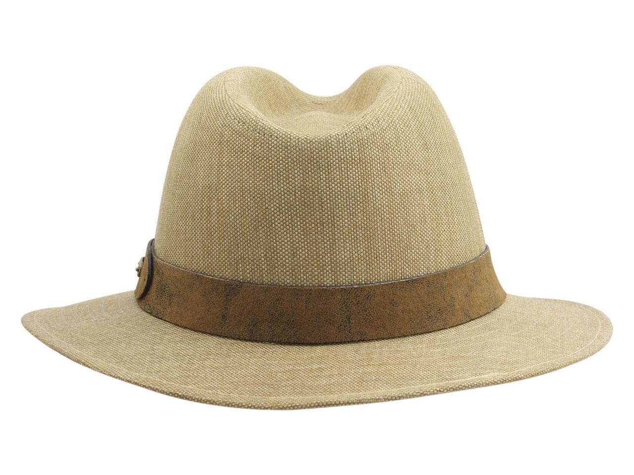Stetson Men s Pigskin Trim Weathered Toyo Safari Hat by Stetson 43df05f1706
