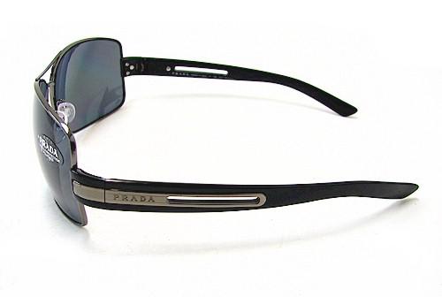 2be19e4ae3641 ... where to buy prada spr 54i sunglasses spr54i gunmetal 5av 5z1 polarized  shades by prada 5a437