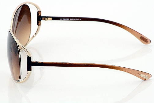 b5b117befcbc1 TOM FORD Eugenia TF 156 Sunglasses TF156 Gold Brown 28F Shades by Tom Ford