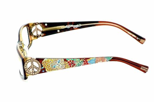 Eyeglass Frames Ed Hardy : Ed Hardy EHO715 Eyeglasses EHO 715 Hazel Optical Frames
