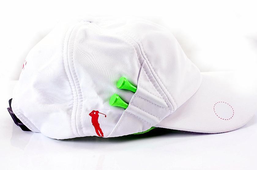 Hugo Boss Crip Hat Adjustable White Mens Cap with Golf Tees by Hugo Boss 7e6b048252a
