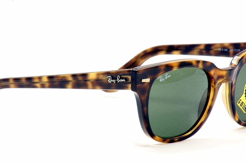 58ecef609b5 Ray Ban Meteor RB4168 4168 710 Shiny Havana RayBan Wayfarer Sunglasses by  RayBan