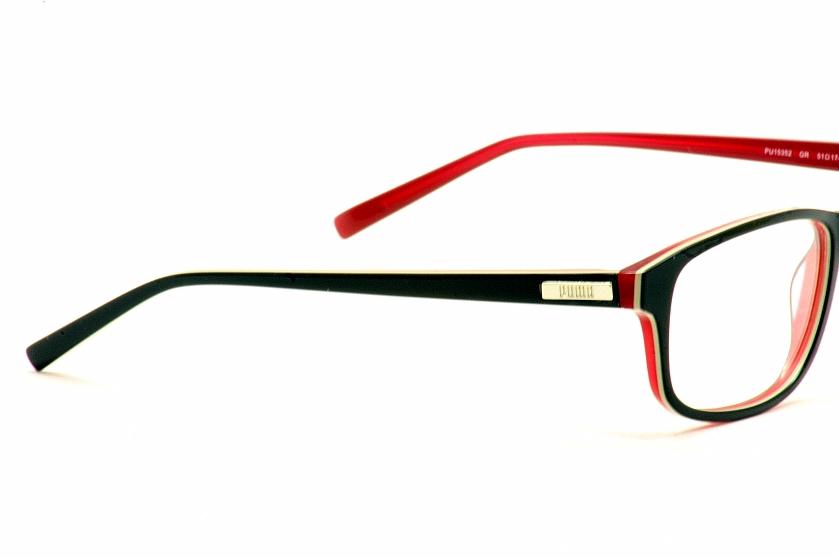 Puma Eyeglasses PU15352 PU/15352 Grey/Red Full Rim Optical Frame