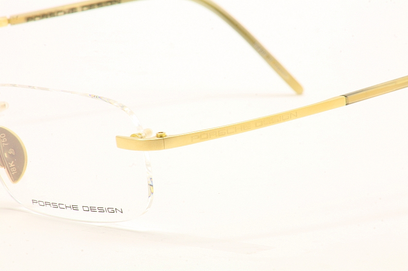 8ea5a813777d Porsche Eyeglasses P 8124 P8124 Limited Edition 18K Gold Frame by Porsche