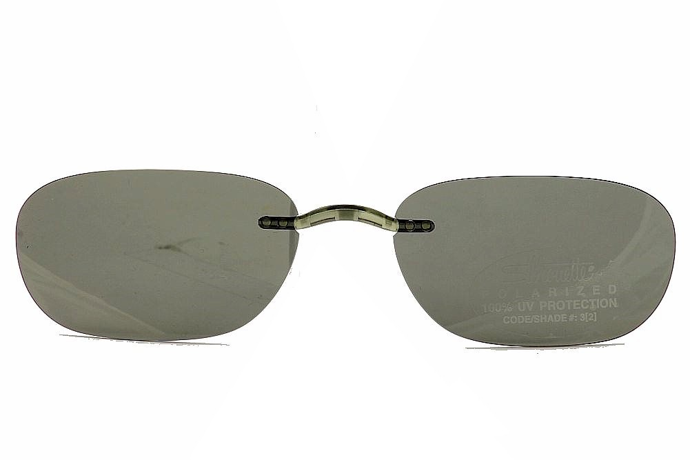 Silhouette Clip On Sunglasses  silhouette the must collection 5065 brown or grey polarized clip