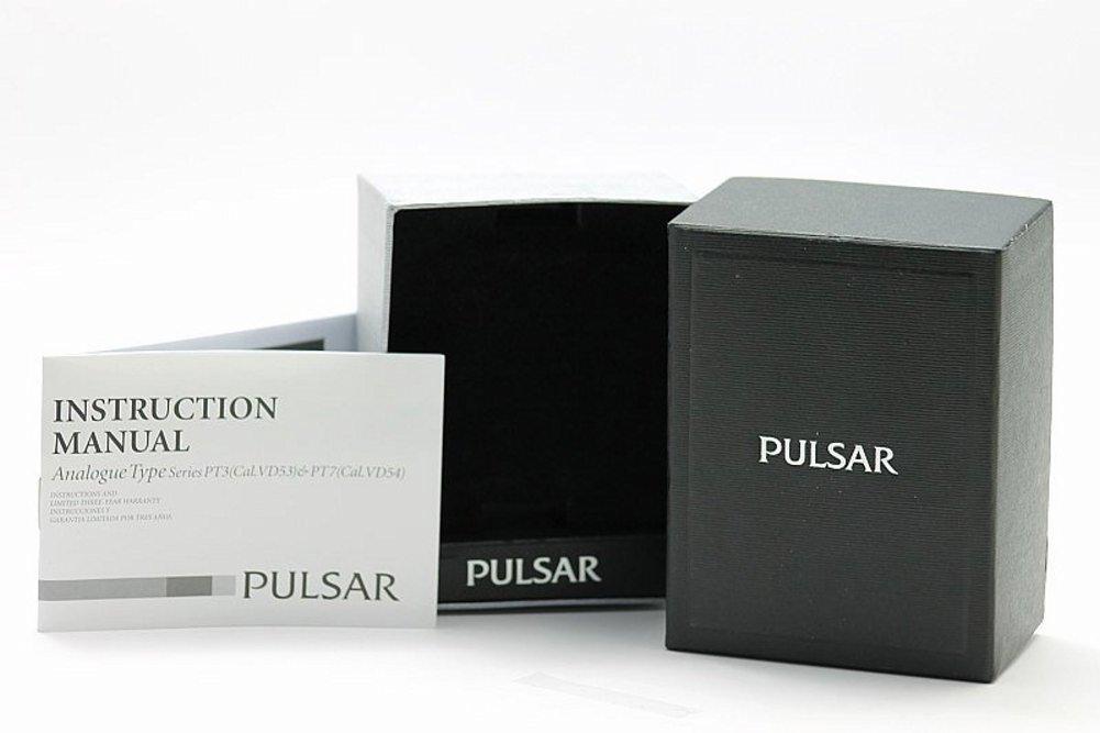 Pulsar Mens Pt3273 Black Chronograph Watch