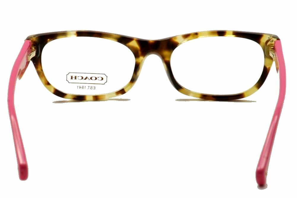 Coach Eyeglasses Women\'s Topaz HC6034 HC/6034 Full Rim Optical Frame
