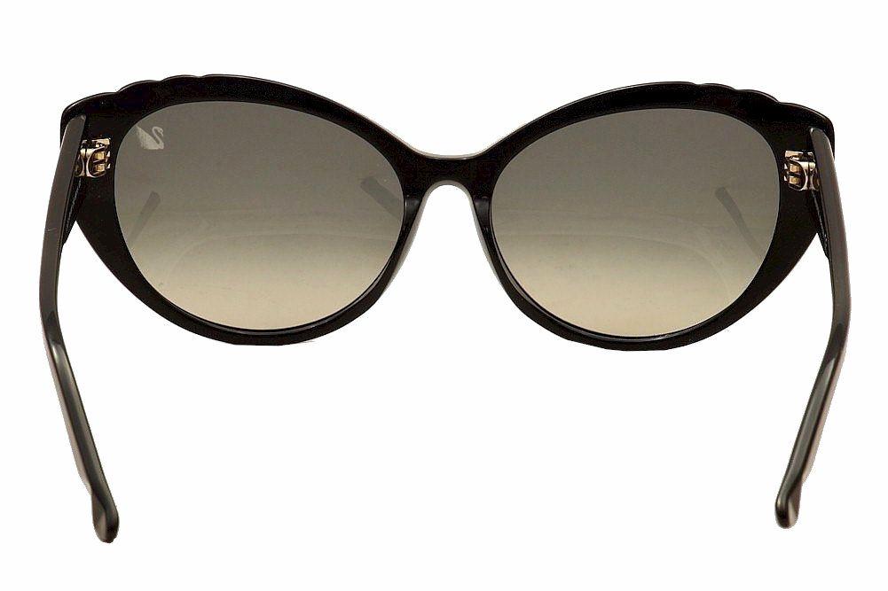 4389133e9279 Daniel Swarovski Women s Daisy SW55 SW 55 Cat Eye Sunglasses by Daniel  Swarovski