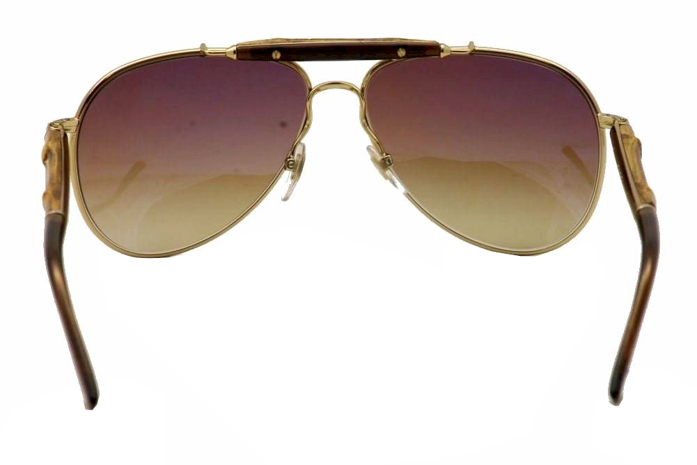 ced41911c4 Gucci Bamboo GG 4240 S 4240S Fashion Pilot Sunglasses 58mm by Gucci