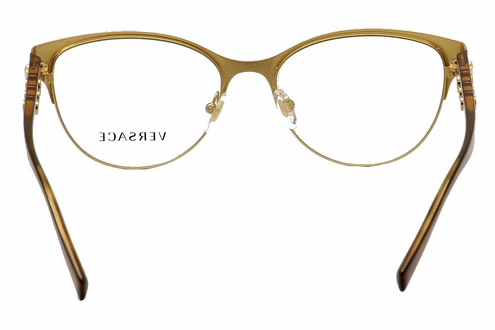 81cfabeb9ba3 Versace Women s Eyeglasses VE1237 VE 1237 Full Rim Optical Frame by Versace
