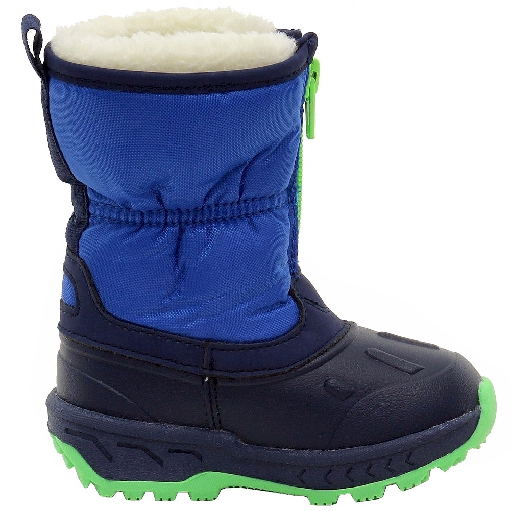 Carter's Toddler/Little Boy's Zipup Fur Lined Snow Boots Shoes