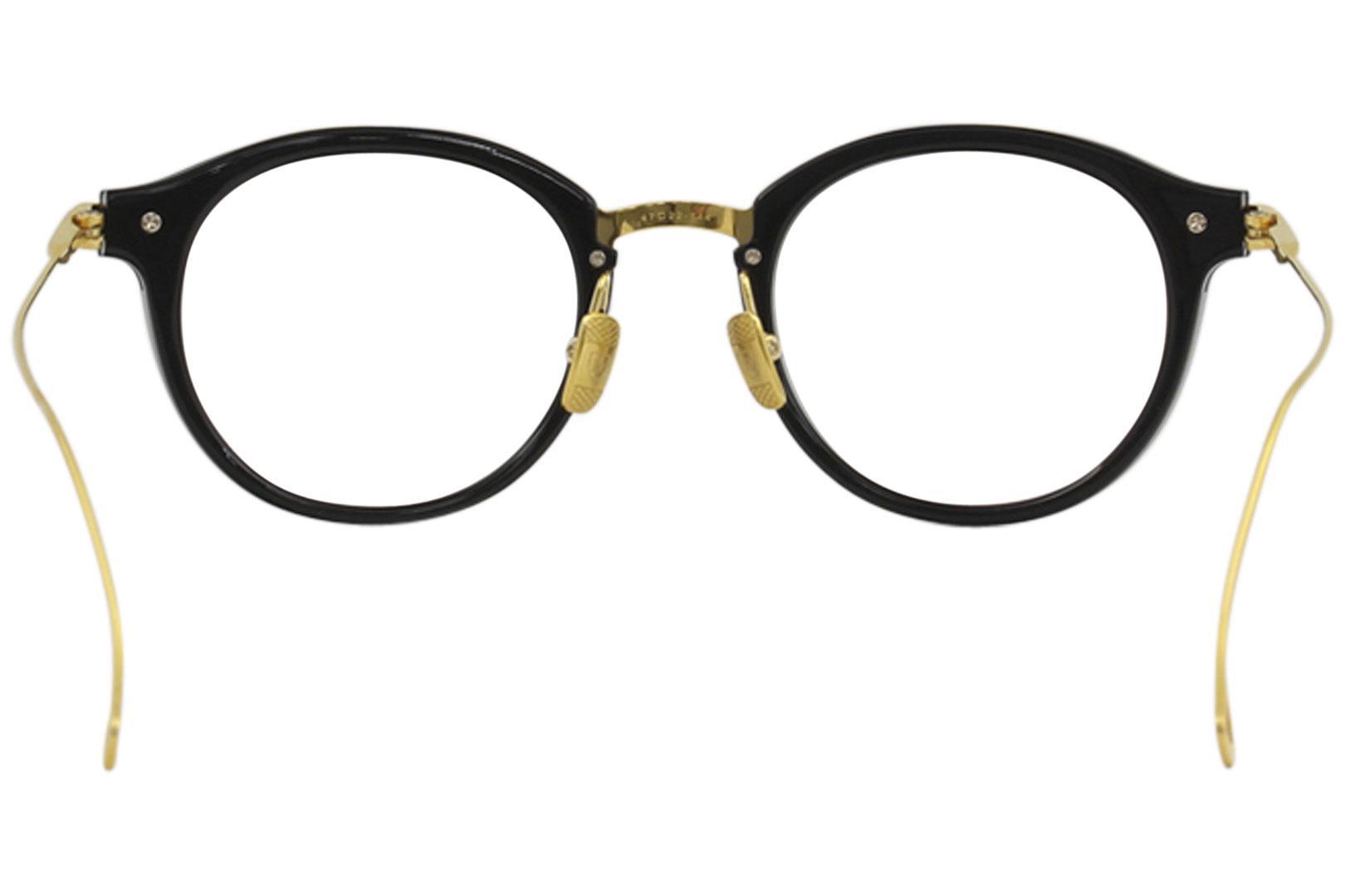 52ae56c3ce88 Dita Men s Eyeglasses Edmont DRX-2067 18K Gold Full Rim Titanium Optical  Frame