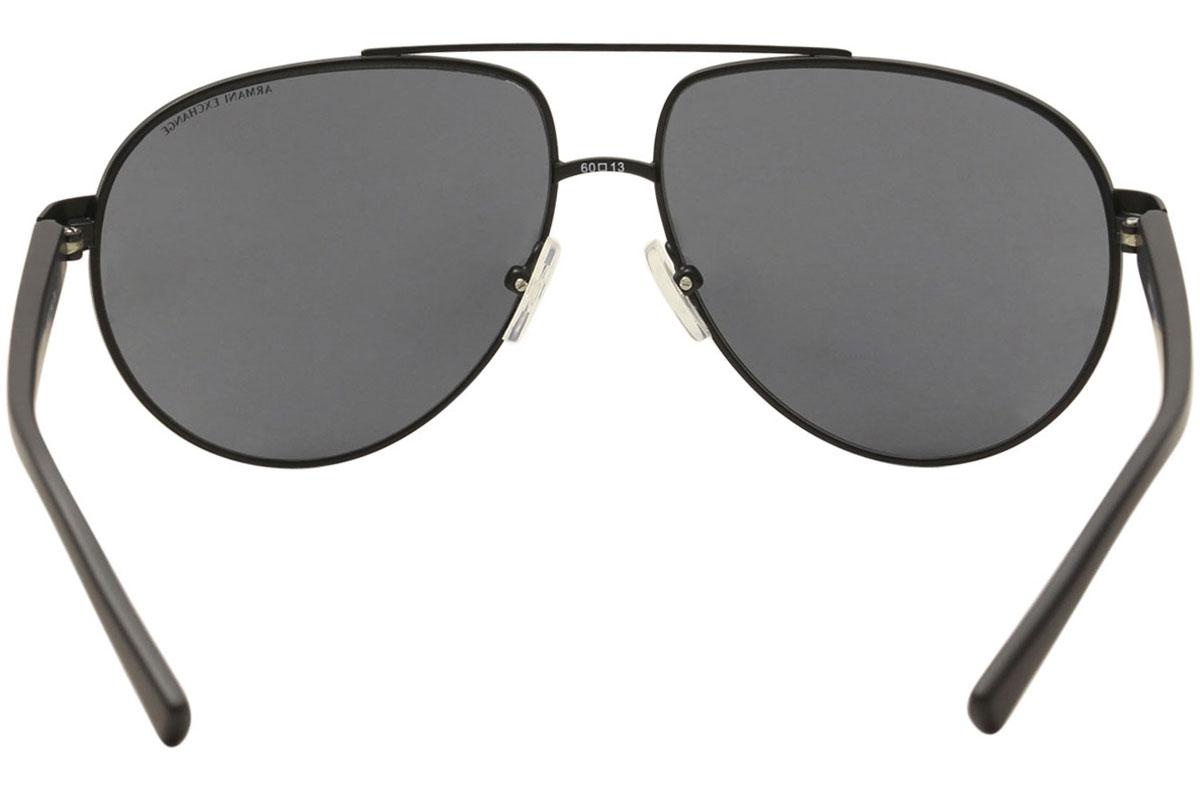 e012f92f827 Armani Exchange Men s AX2022S AX 2022 S Pilot Sunglasses by Armani Exchange