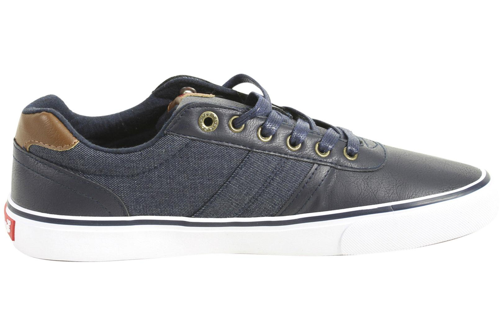 ef41e39fcc25b Levi s Men s Miles Cacti Denim Sneakers Shoes by Levi s