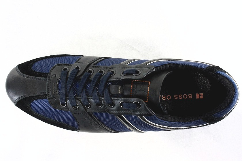 hugo boss orange men 39 s sneakers simbad navy shoes. Black Bedroom Furniture Sets. Home Design Ideas