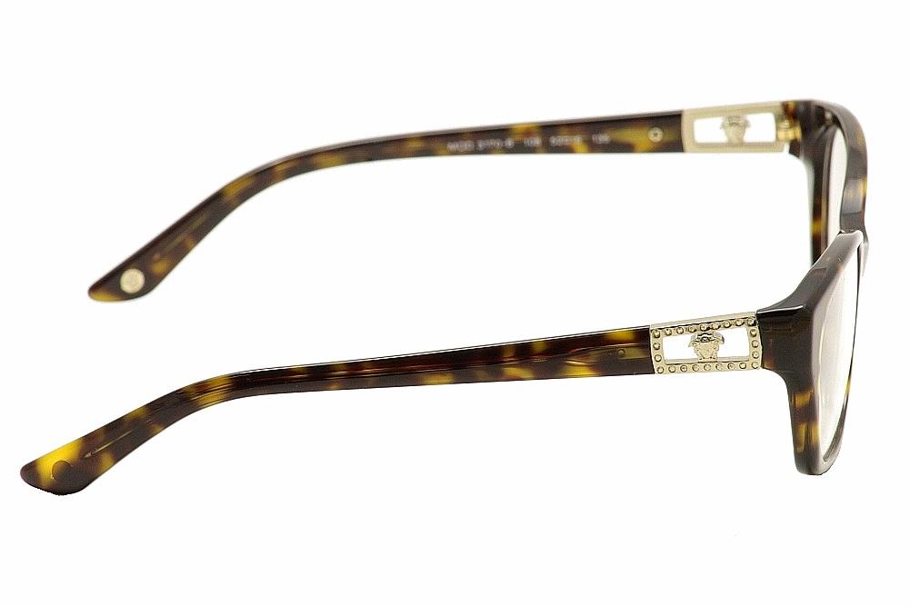 Eyeglass Frame Versace : Versace Womens Eyeglasses VE3170B 3170B Full Rim Optical ...
