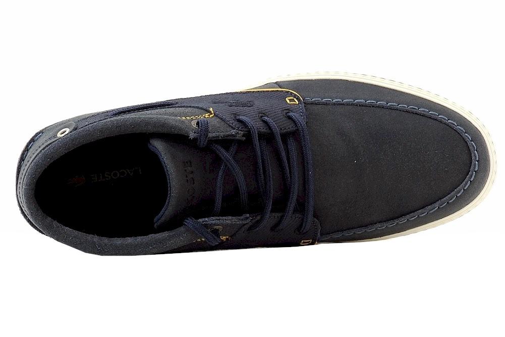 b63cf5d012e01f Lacoste Men s Meyssac Deck Chukka Sneakers Shoes