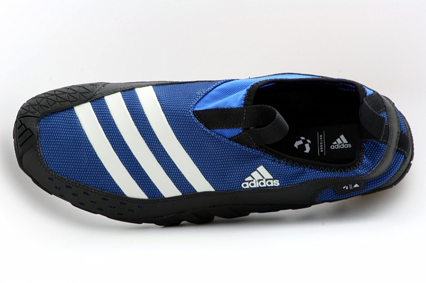 low priced 3bc17 c5dad Adidas Mens Outdoor Jawpaw II Water Shoes Blue