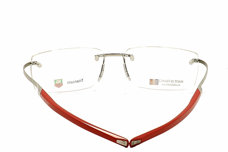 a8397698d9 Tag Heuer Eyeglasses TH0303 0303 TagHeuer Rimless Optical Frame by Tag Heuer