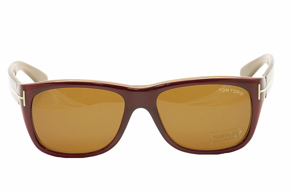 dcd1ee1613 Tom Ford Mackenzie TF84 TF 84 FT84 187 Bordeaux Sunglasses 56mm by Tom Ford