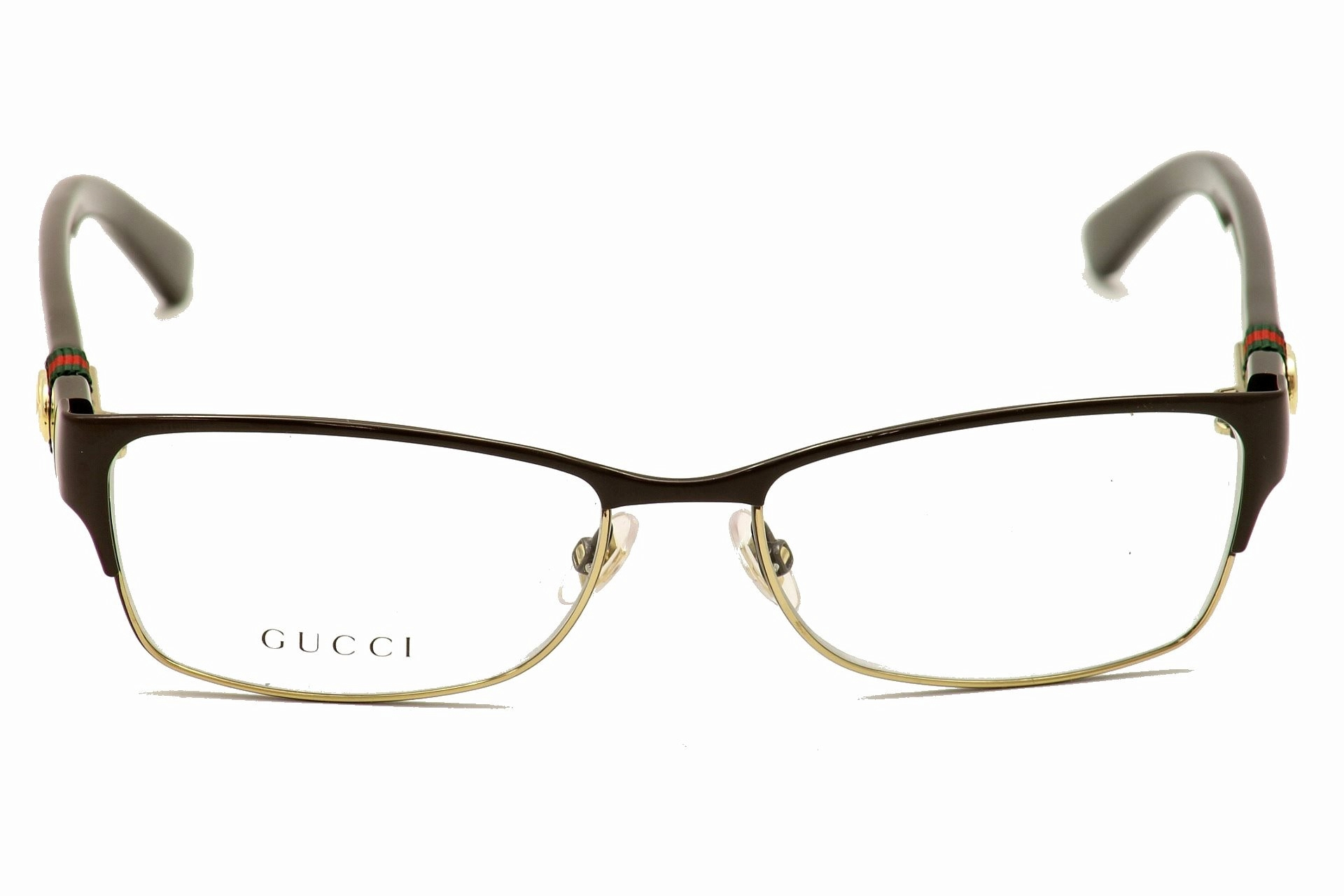 gucci womens eyeglasses 4244 full rim optical frame by gucci