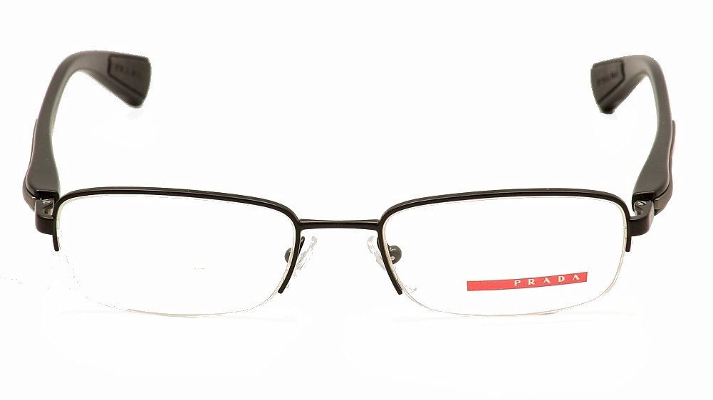 fc2baf2185d Prada Linea Rossa Eyeglasses VPS50D VPS 50D Half Rim Optical Frame by Prada  Linea Rossa