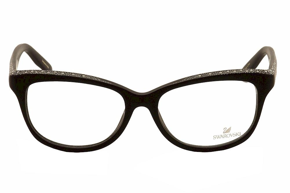 8908c0e7e7 Daniel Swarovski Women s Eyeglasses Dame SW5100 SW 5100 Full Rim Optical  Frame by Daniel Swarovski