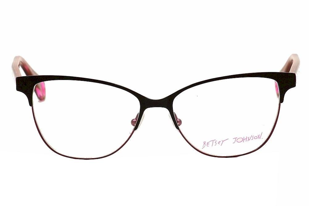 83d0516e2f8 Betsey Johnson Eyeglasses Polished Punk BJ0159 BJ 0159 Full Rim Optical  Frame by Betsey Johnson