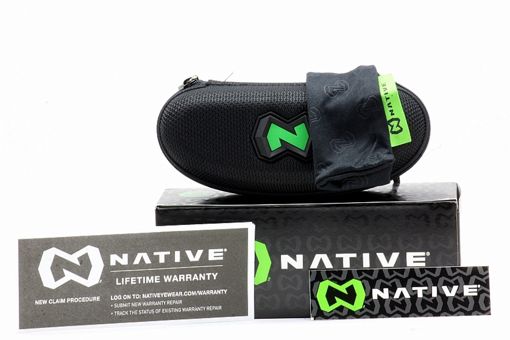 7e41f86767 Native Men s 155-347-528 Itso Gunmetal Polarized Sunglasses W  Extra Lenses  by Native