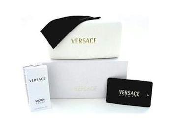 7b6c0532433 VERSACE 2032 Black Gunmetal 1001 11 Sunglasses by Versace
