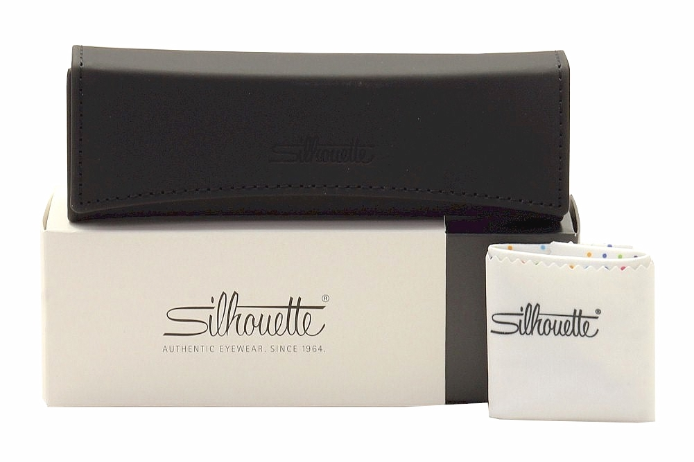 26ca10c401a Silhouette Eyeglasses Titan Minimal Art Pulse Chassis 5490 Rimless Optical  Frame