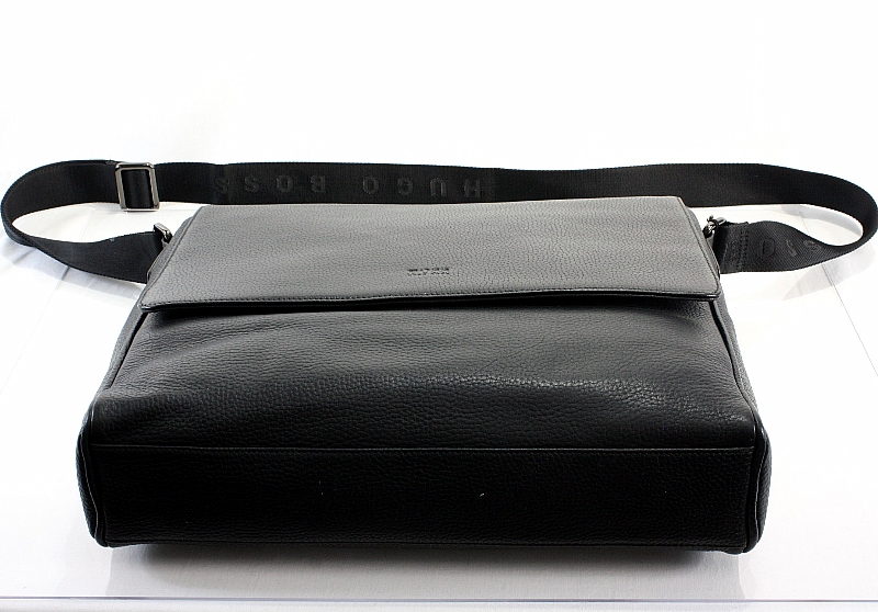 3eae3f08794b Hugo Boss Messenger Bag Bangor 2 Black Workbag by Hugo Boss