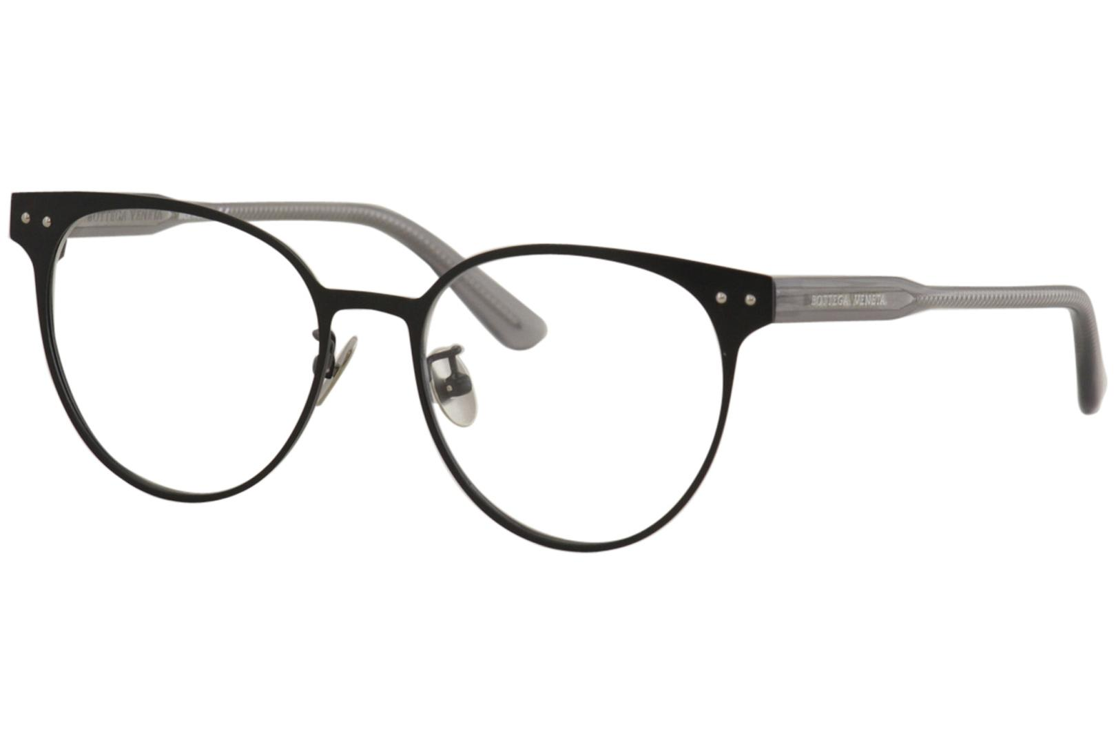 Eyeglasses Bottega Veneta BV 0228 O 001 BLACK//GREY