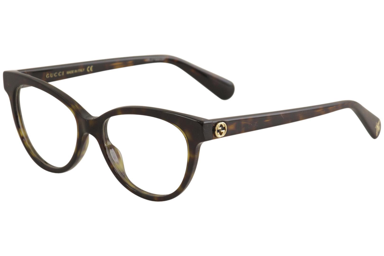 964dcfa9367f Gucci Women's Eyeglasses GG0373O GG/0373/O Full Rim Optical Frame