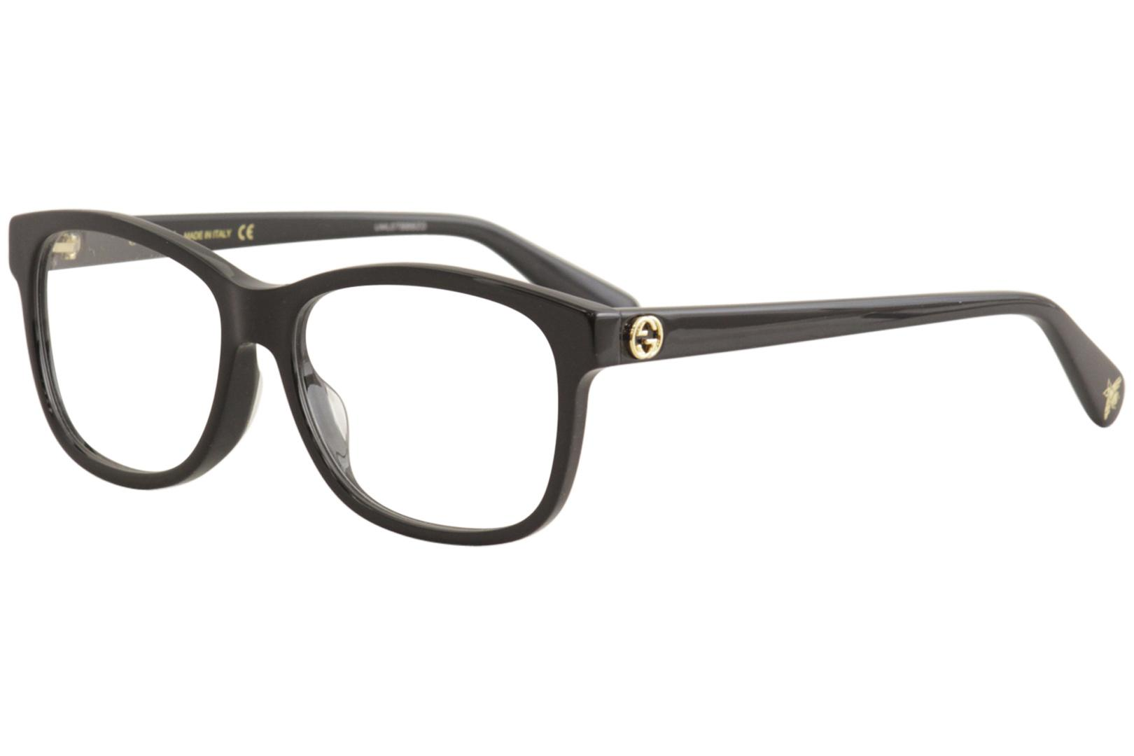 28f7cdde6104 Gucci Women's Eyeglasses GG0374OA GG/0374/OA Full Rim Optical Frame