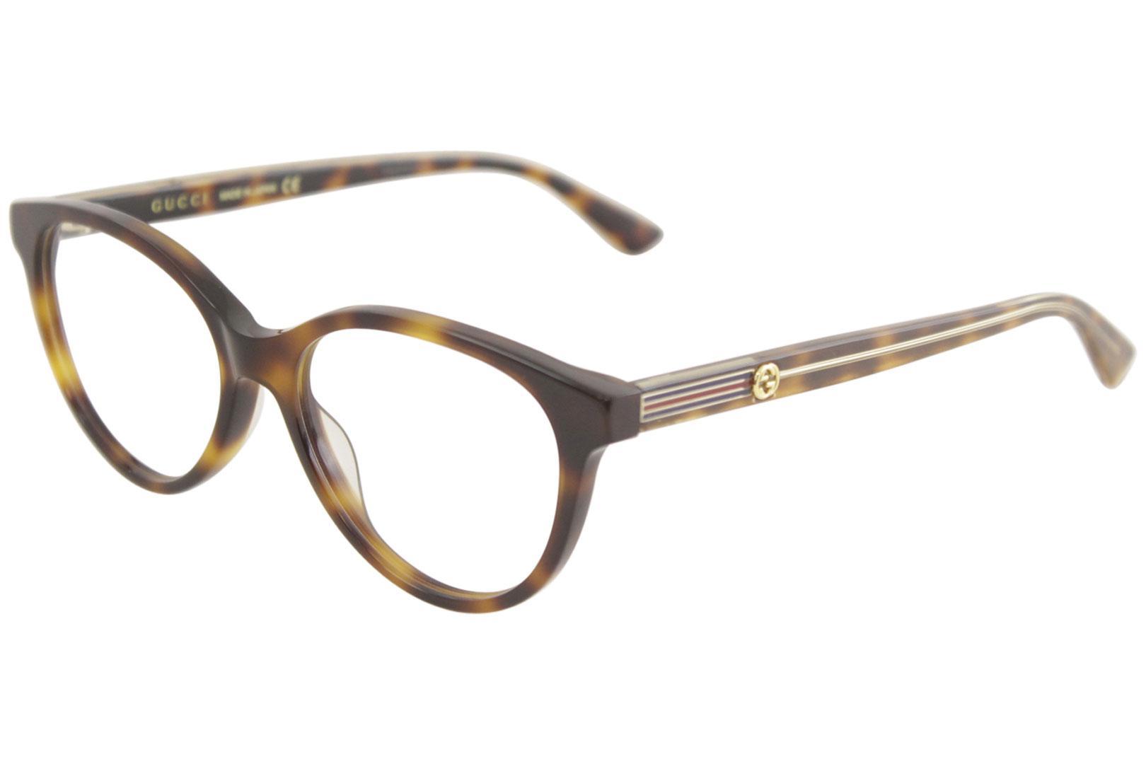 87917c6e2d1d Gucci Women's Eyeglasses GG0379O GG/0379/O Full Rim Optical Frame
