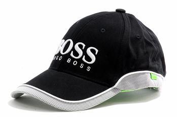 dc0af976c22 Hugo Boss Cotton Baseball Cap Embroidered Logo Hat