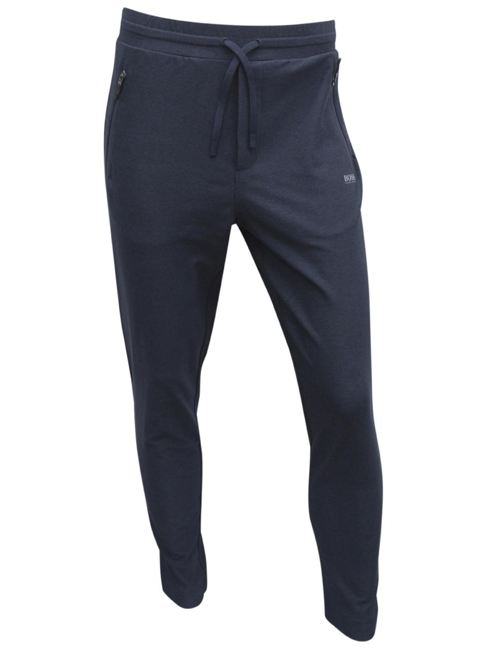 Hugo Boss Mens Authentic Piped Jersey Lounge Pants