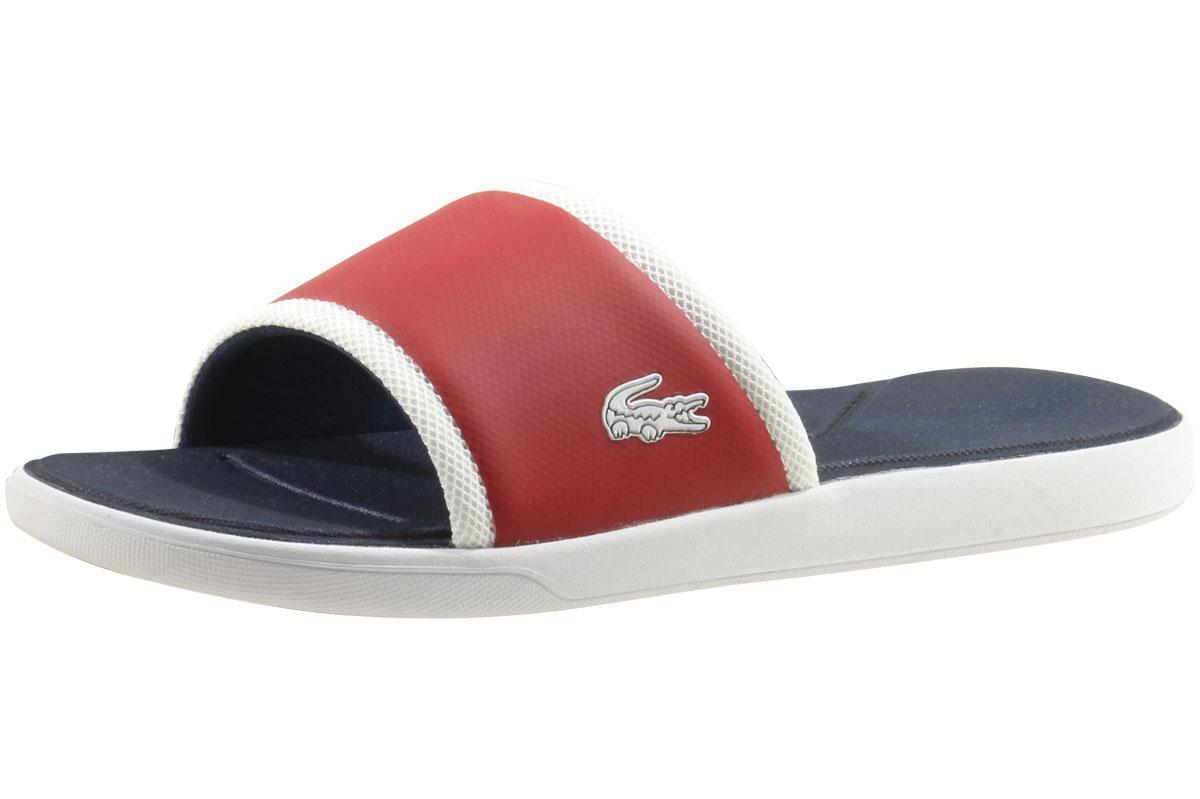 ffe6e916d Lacoste Men s L.30-Slide-317 Slip-On Sandals Shoes