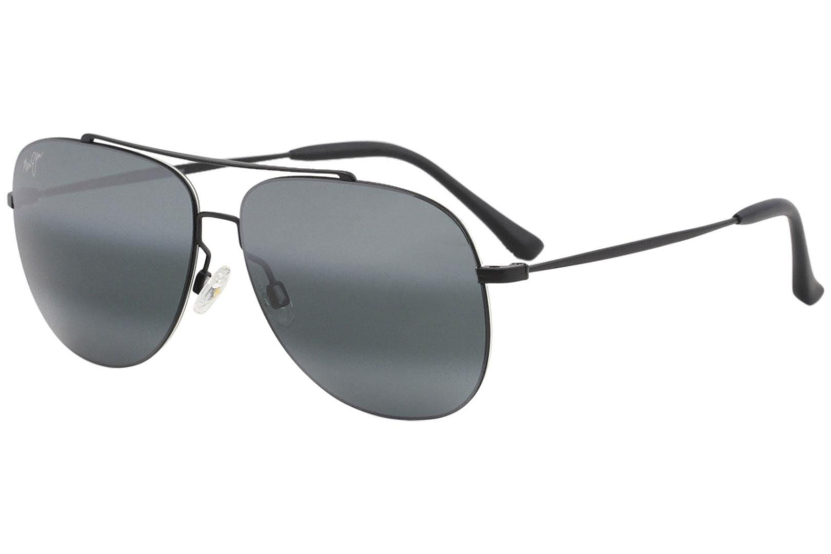 f0dba03e44 Maui Jim Men s Cinder-Cone MJ789 MJ 789 Fashion Pilot Polarized Sunglasses