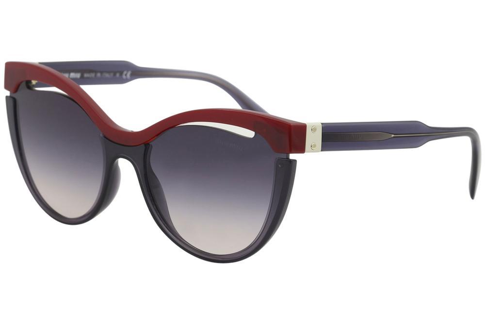 dacc7115734a Miu Miu Women s SMU10N SMU 10N Fashion Cat Eye Sunglasses
